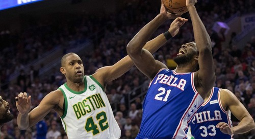 Al Horford remains unstoppable against the 76ers