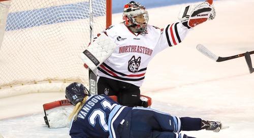 NCAA Women's Hockey Tournament: Heartbroken Huskies and Grounded Eagles