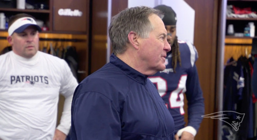 Bill Belichick made sure Patriots keep their focus in his postgame speech