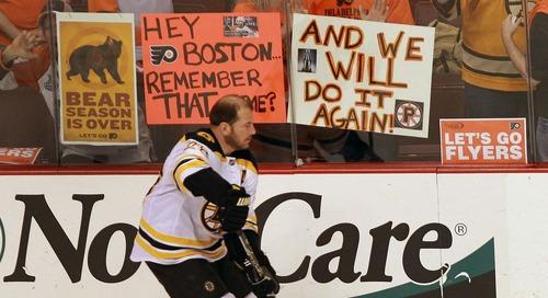 Reprise Public Skate: Bruins v. Flyers ECSF Game #1