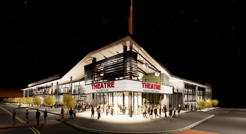 South of Atlanta, growing mini-city moves forward with rooftop cinema, theater