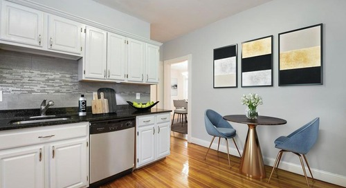 How much for a redone Dot two-bedroom with central air?
