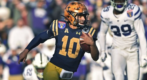 Scouting report: Navy QB/WR/RB Malcolm Perry