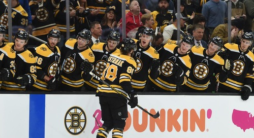 David Pastrnak gets another hat trick, breaks the 40-goal mark in the process
