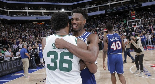 Buddy Hield's offense outshines Marcus Smart's defense in crunch time