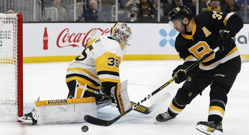 Recap: Bruins hit the reset button, top Penguins, 4-1
