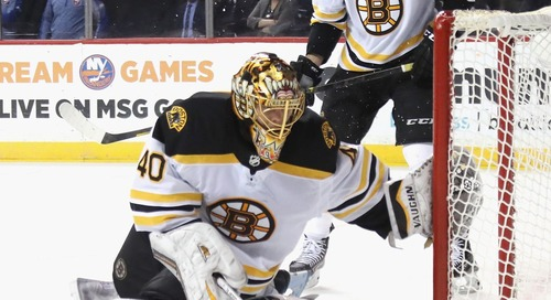Tuukka Rask leaves game, has a concussion after getting punched in the head