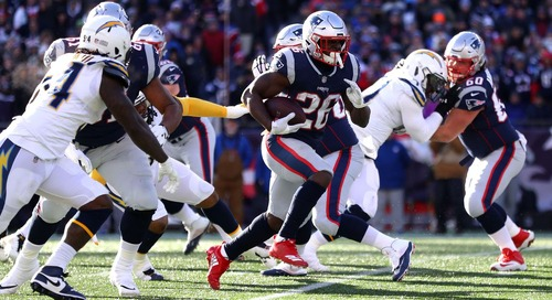 Patriots vs Chargers snap counts: New England ran all over Los Angeles' defense