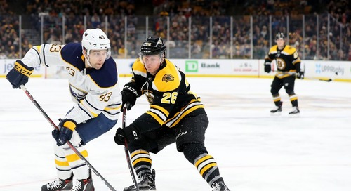 Bruins lose Colby Cave to Edmonton