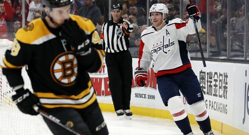 Recap: Despite Great Effort, Bruins Lose Heartbreaker to Capitals
