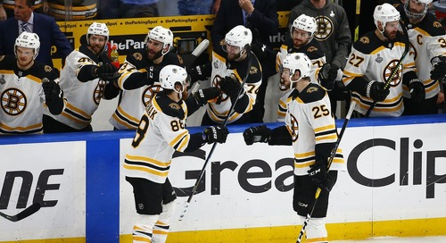 Making it back to the Stanley Cup Final next season will be difficult for Bruins