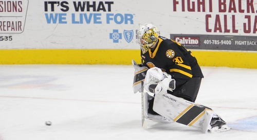 Who will the Bruins use to replace Tuukka Rask?
