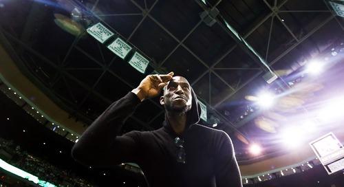 Must C's: Boston Celtics announce they'll retire Kevin Garnett's jersey