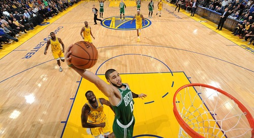 Boston makes big plays down the stretch for 10th straight win: Takeaways from Celtics/Warriors