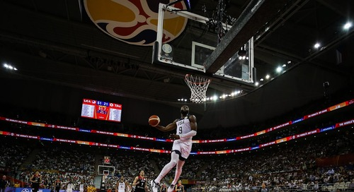 FIBA World Cup: USA thumps Japan 98-45 without Tatum and Smart