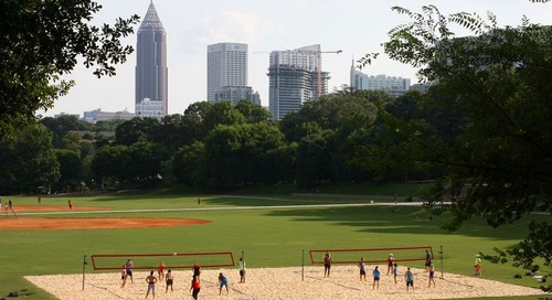 Atlanta rises in closely watched ParkScore ranking—but not by much