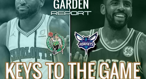 Is the Hornets game a good time for Stevens to shake up the lineup? (video)