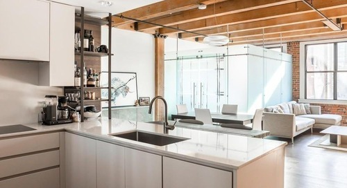 Fort Point condo includes glass-enclosed bedroom