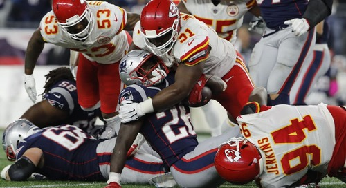 There is one thing the Patriots can't afford to do against the Chiefs