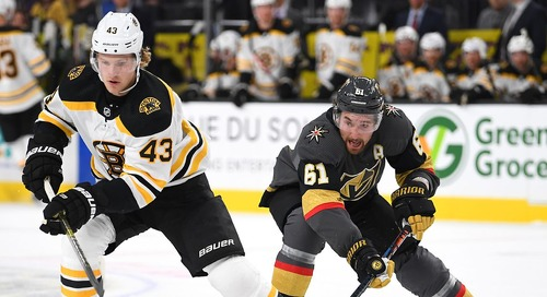 Complete Coverage: Vegas Golden Knights at Boston Bruins, Jan. 21