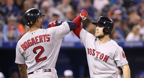 Red Sox 12, Blue Jays 2: Sox celebrate Victoria Day with a blowout