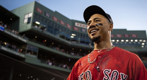 All-Time Red Sox Roster: Mookie Betts