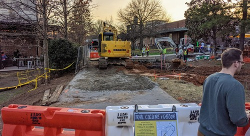UPDATED: Eastside Trail segment reopens as city crews work to fix sinkhole
