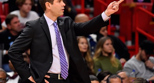 Brad Stevens speaks about expectations and Boston's recent performances