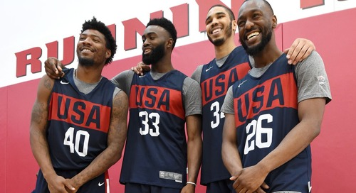 A chemistry lesson on History Week: Celtics bonding during Team USA training camp