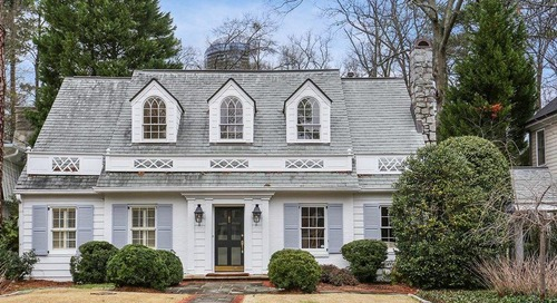 Uniquely charming, $1.1M Buckhead traditional has expansion inspired by a book