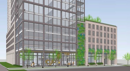 Renderings: Between Piedmont Park and Colony Square, luxury rentals move forward