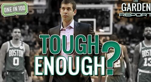 Brad Stevens frustrations boil over, questions Celtics' toughness (video)