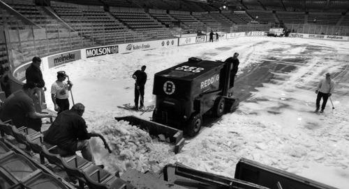 Reprise Public Skate: Bruins v.Canadiens
