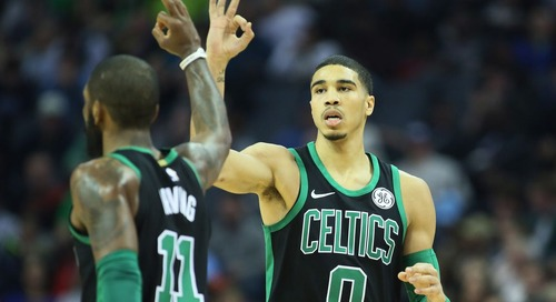 Kyrie Irving & Jayson Tatum could be the NBA's new 'dynamic duo' - The Garden Report