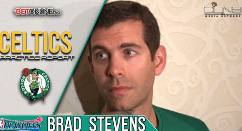 Celtics Practice Report: Brad Stevens says the Celtics have not played their best basketball yet (video)