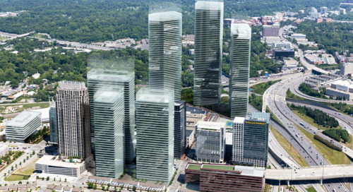 Renderings: Amazon HQ2 ideas that could have reshaped Atlanta's skyline