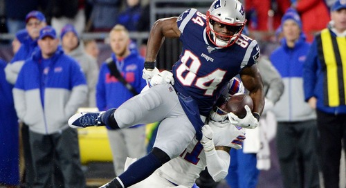 Benjamin Watson was the Patriots' number one tight end in 2019 despite playing through a torn Achilles