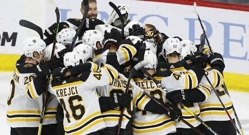 Bruins sweep the Hurricanes, advance to the Stanley Cup Finals