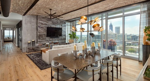 Photos: Inside the dramatic renovation of a $3M Midtown penthouse