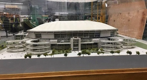 Original Georgia Dome model randomly emerges at auction—and nobody's bidding
