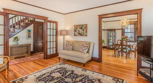 Arboreal Arlington colonial retailing for $669,000
