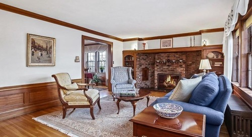 Stately Tudor in Medford wants nearly $940K