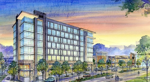 Renderings: Dunwoody's transformation to continue with boutique hotel, retail build