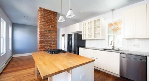 How much for a recently renovated East Somerville condo with its own deck?