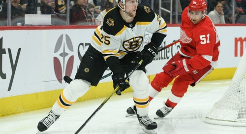 Preview: Bruins look to break the curse of the Red Wings this afternoon