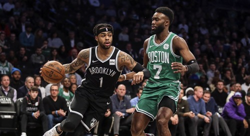 Celtics Monday it up with a 109-102 loss to the Nets