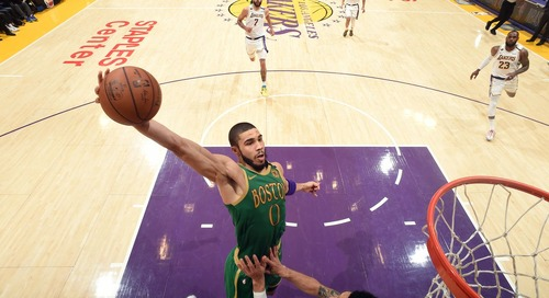 Jayson Tatum reaches 'superstar level' versus Lakers