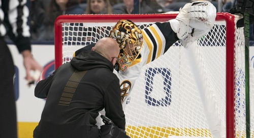 Bruins place Rask on IR, recall Kuhlman and Vladar from Providence