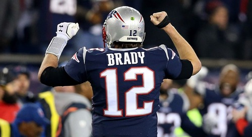 Tom Brady can now add a Sports Emmy to his trophy case... sort of