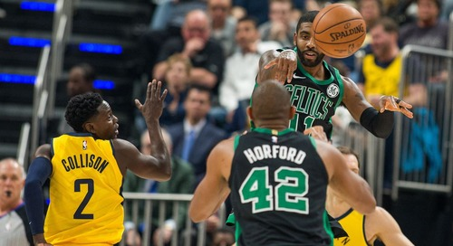 Kyrie Irving and Al Horford close out Pacers in Game 3
